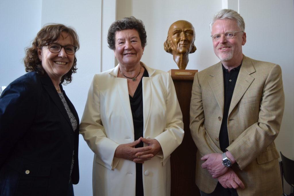 Seit 10 Jahren im Vorstand: Drs. Gisela Gieselmann und Werner Gieselmann