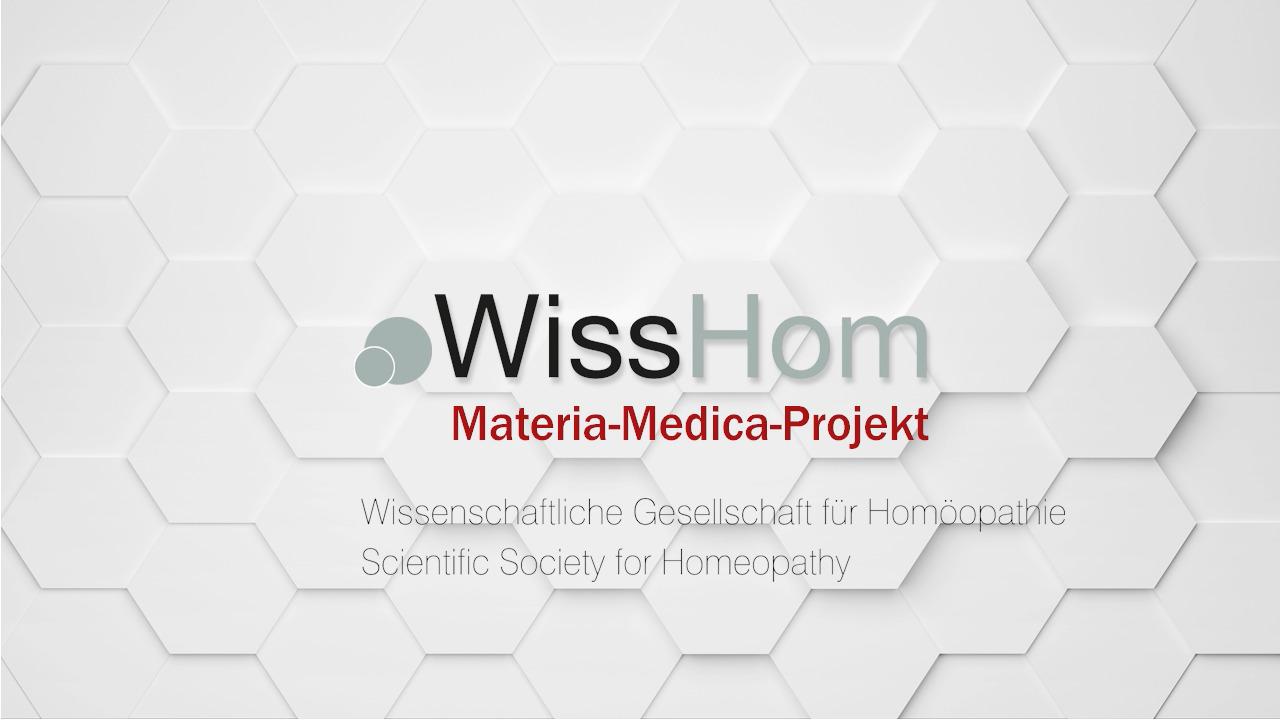 Stiftung unterstützt das Materia Medica Video Projekt von WissHom